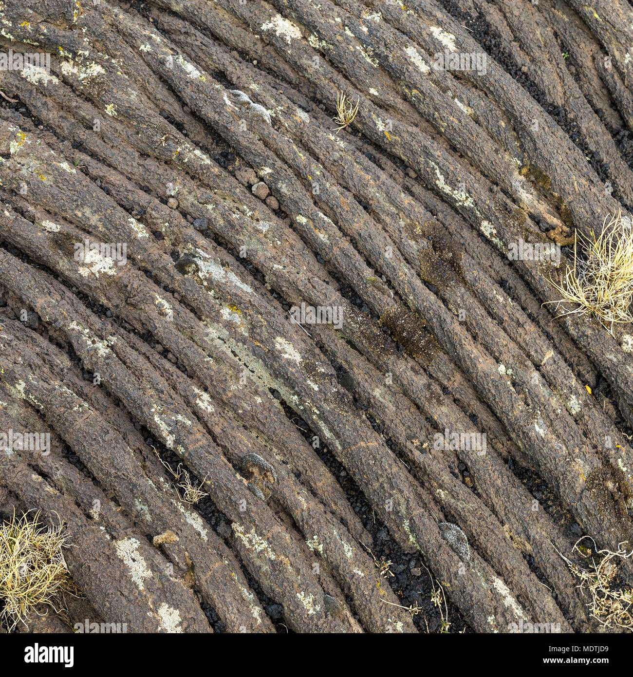 volcanic background or texture, ideal for backgrounds. - Stock Image