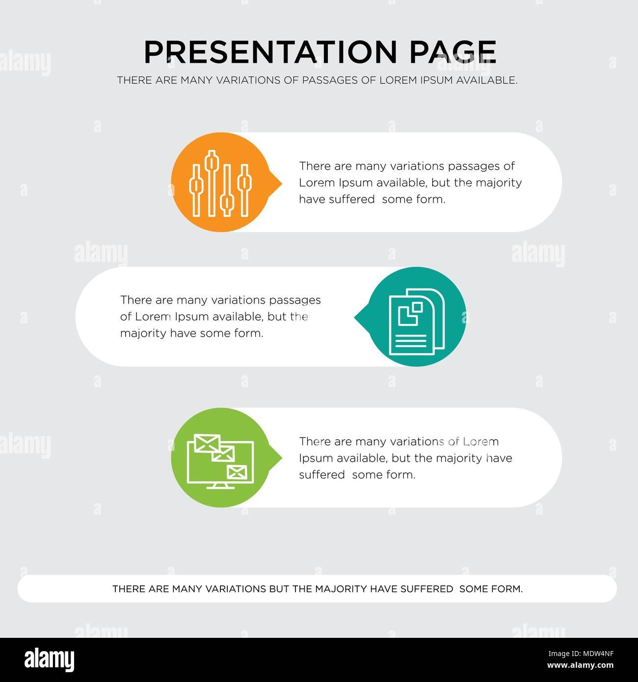 Monitor analytic, Data page, Box plot chart presentation design ...