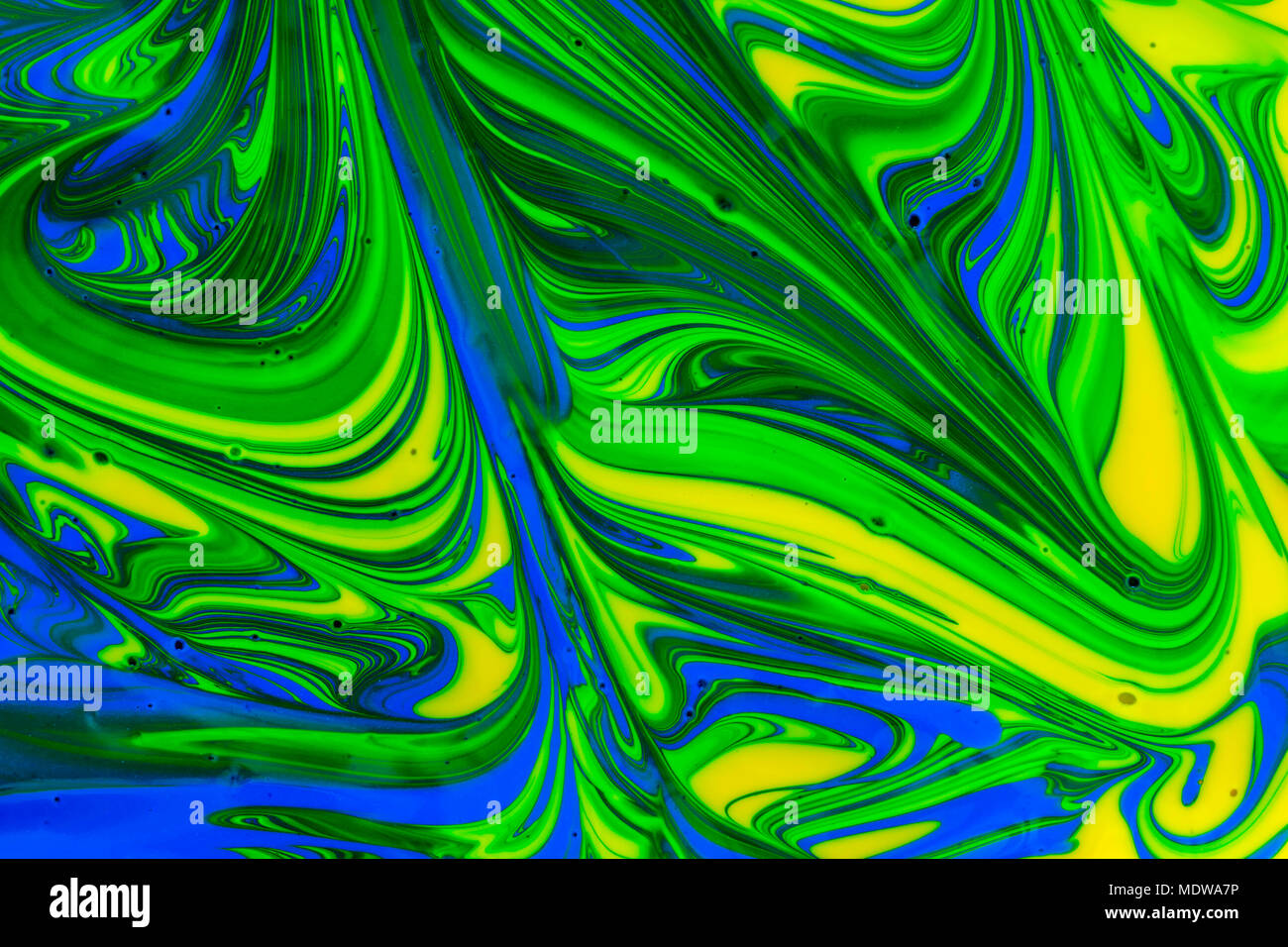 Abstract Background Design In Red Blue Green And Yellow