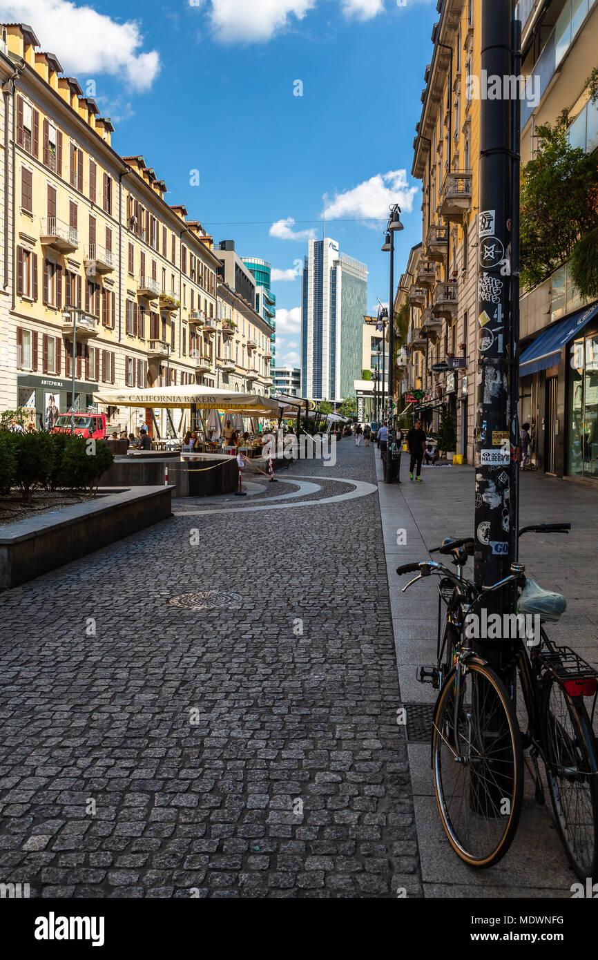 Milano, Italy, Corso Como - Stock Image