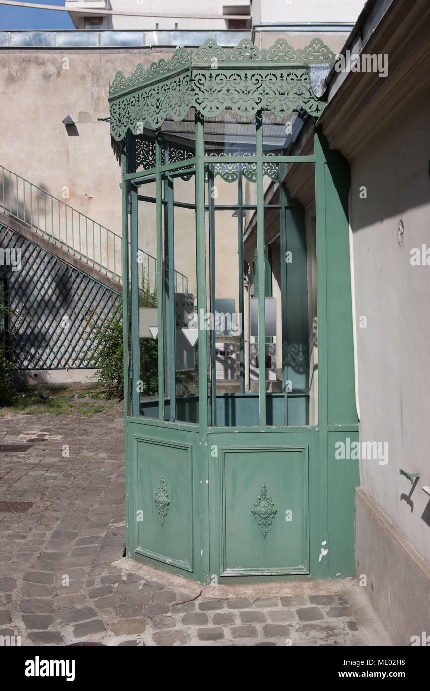 Paris, 16th arrondissement,  46 rue Raynouard, house of Honoré de Balzac, Musée de la Ville de Paris (museum) - Stock Image
