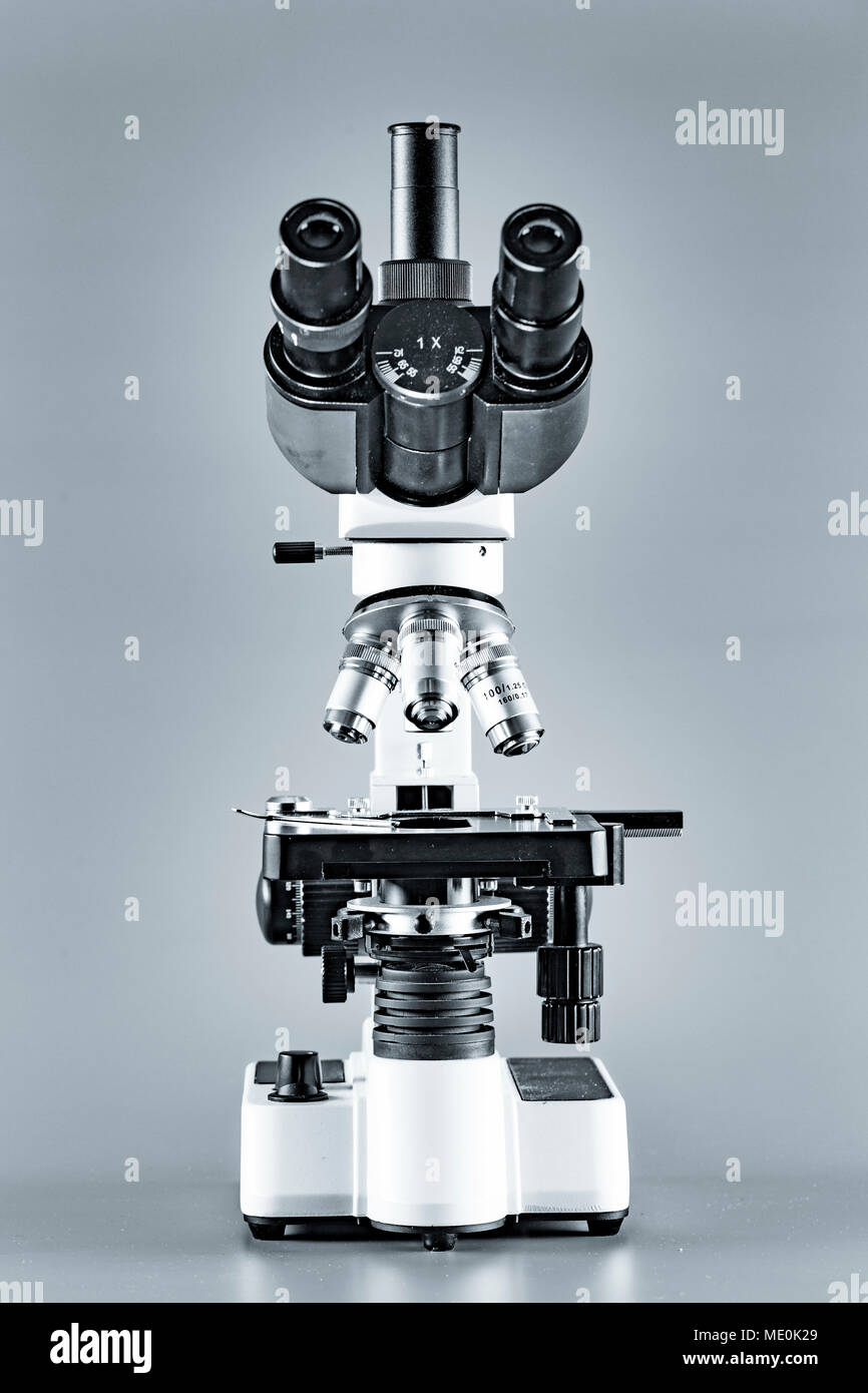 Light microscope. - Stock Image
