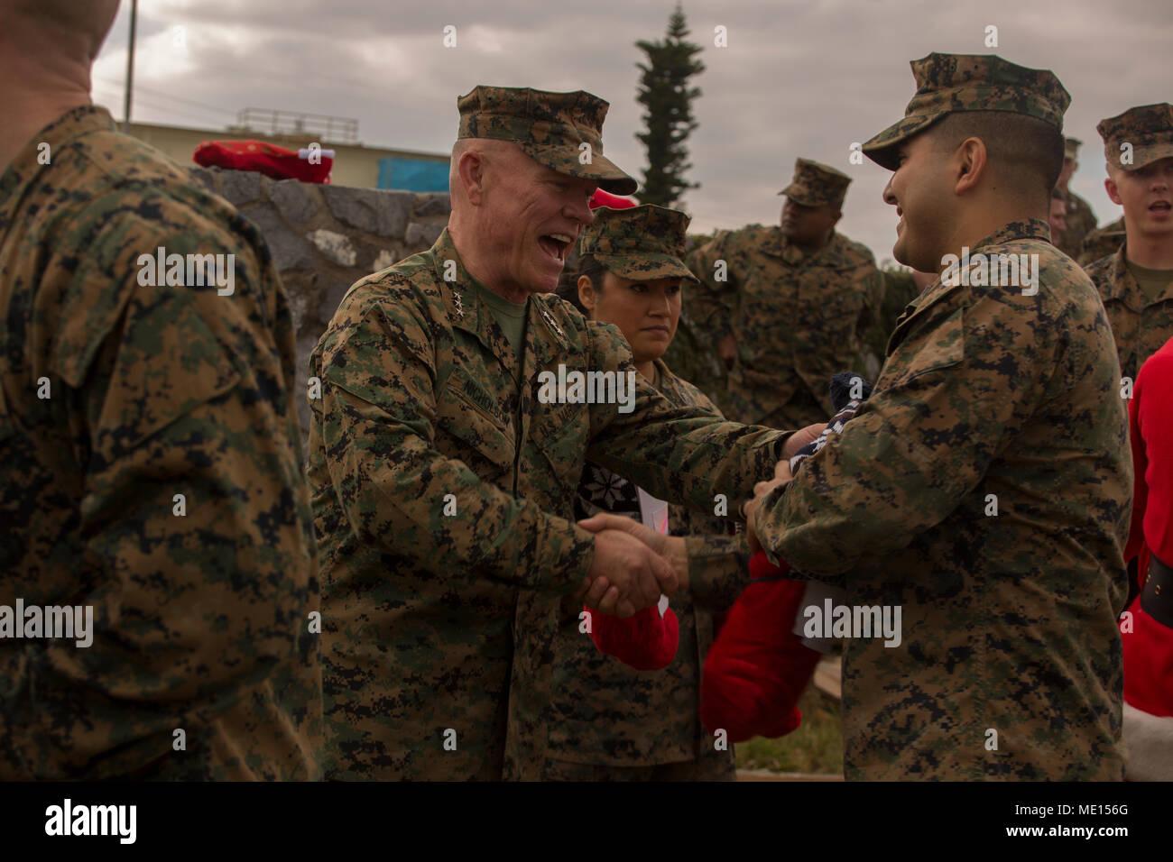 Lt. Gen. Lawrence D. Nicholson, the commanding general of III Marine ...