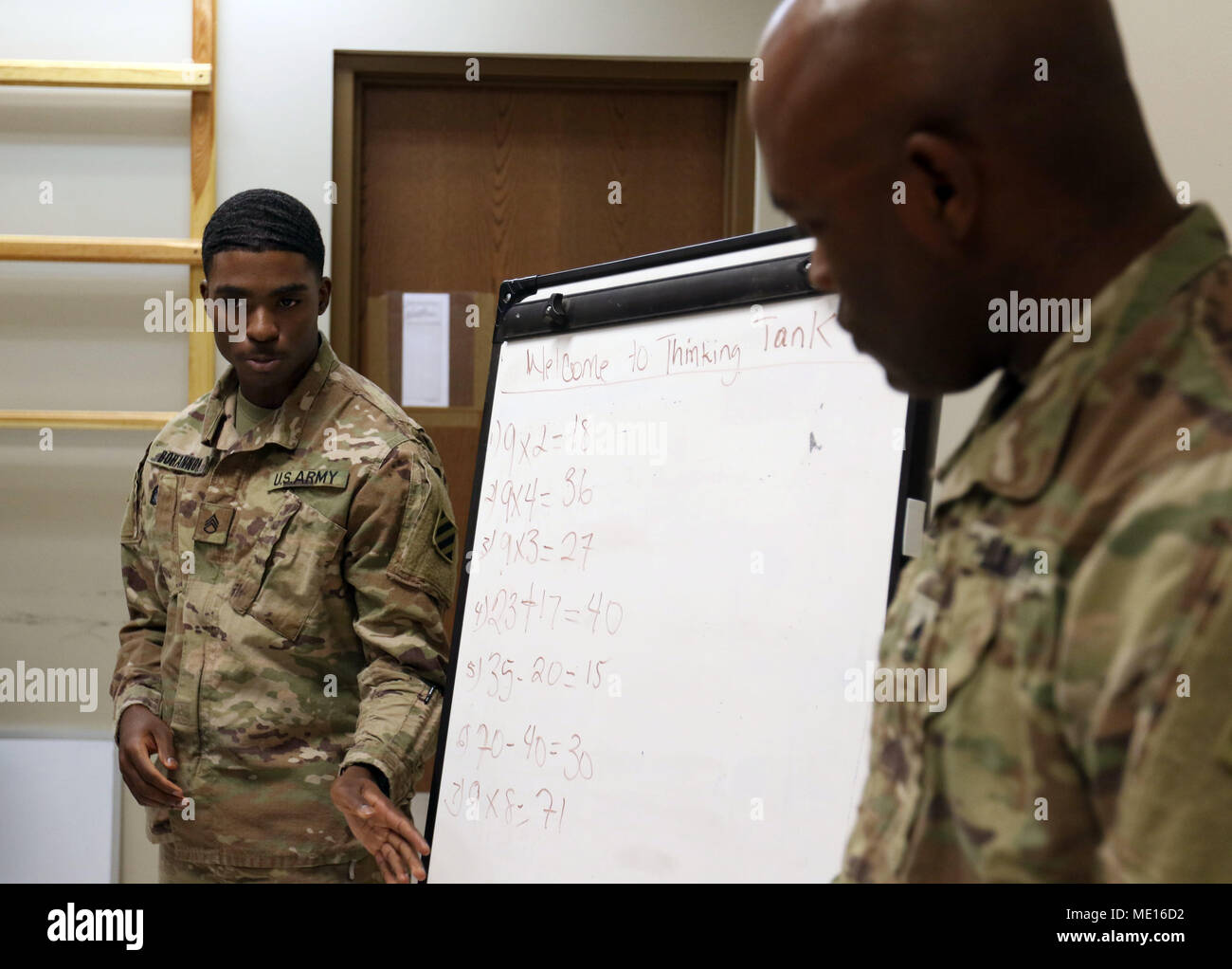 BAGRAM AIRFIELD, Afghanistan - Staff Sgt  Michael Bohannon, the