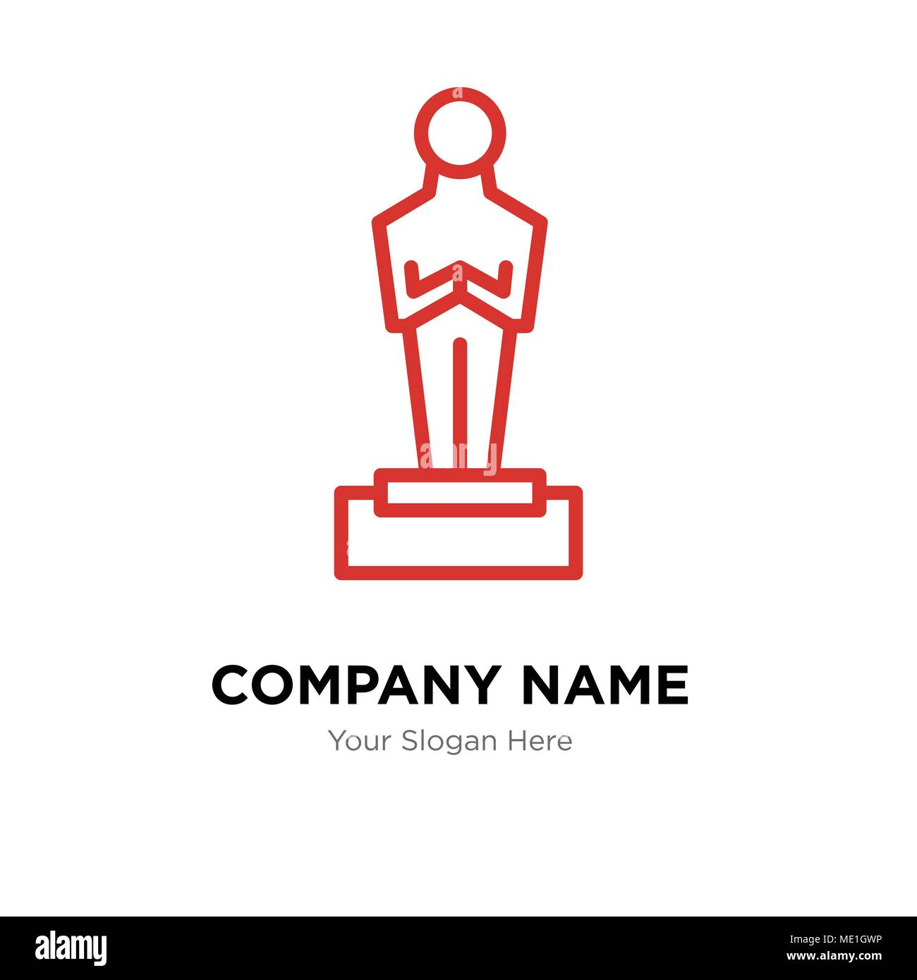 Oscar Company Logo Design Template Business Corporate Vector Icon