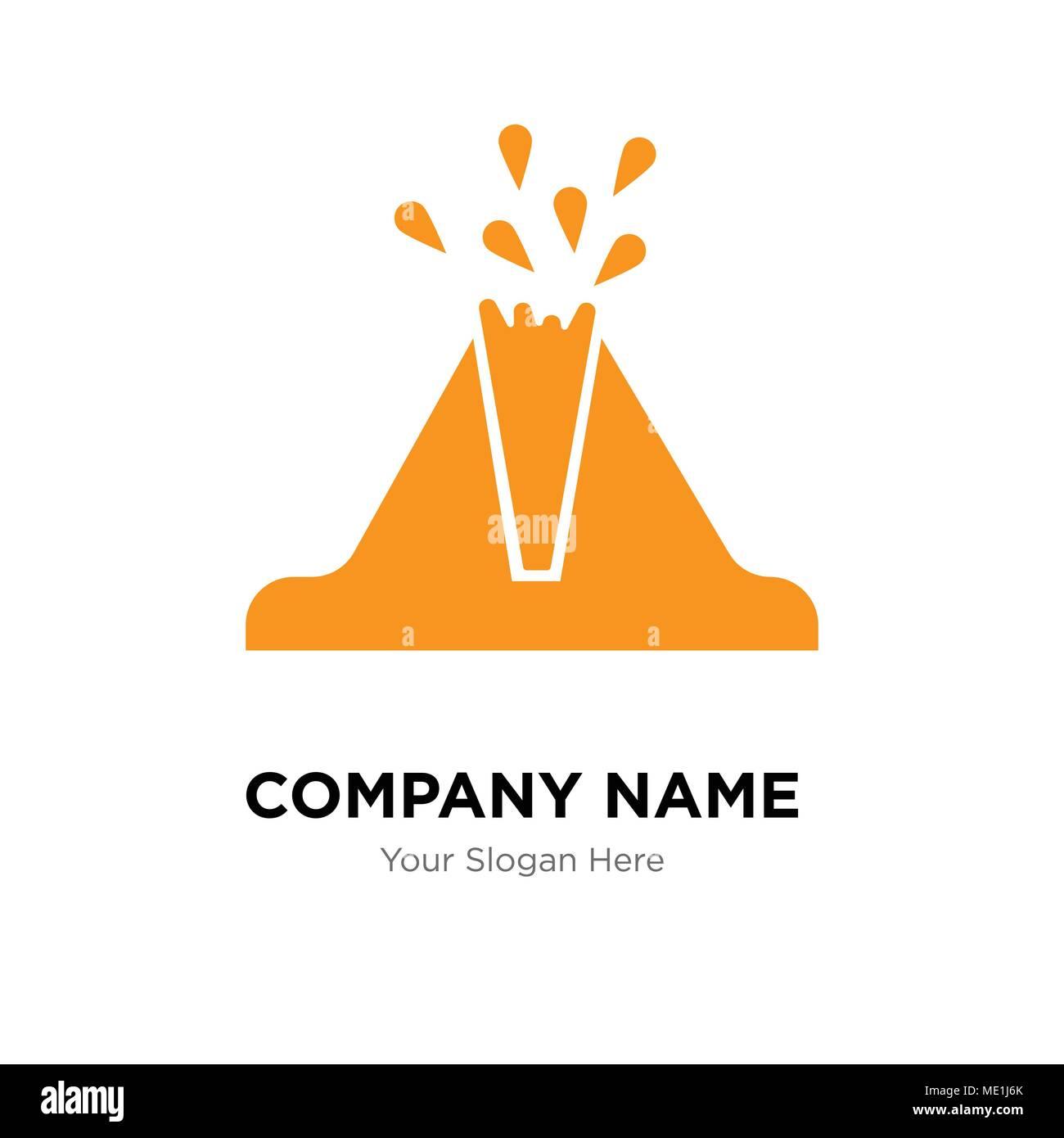 Volcano company logo design template business corporate vector icon volcano company logo design template business corporate vector icon maxwellsz