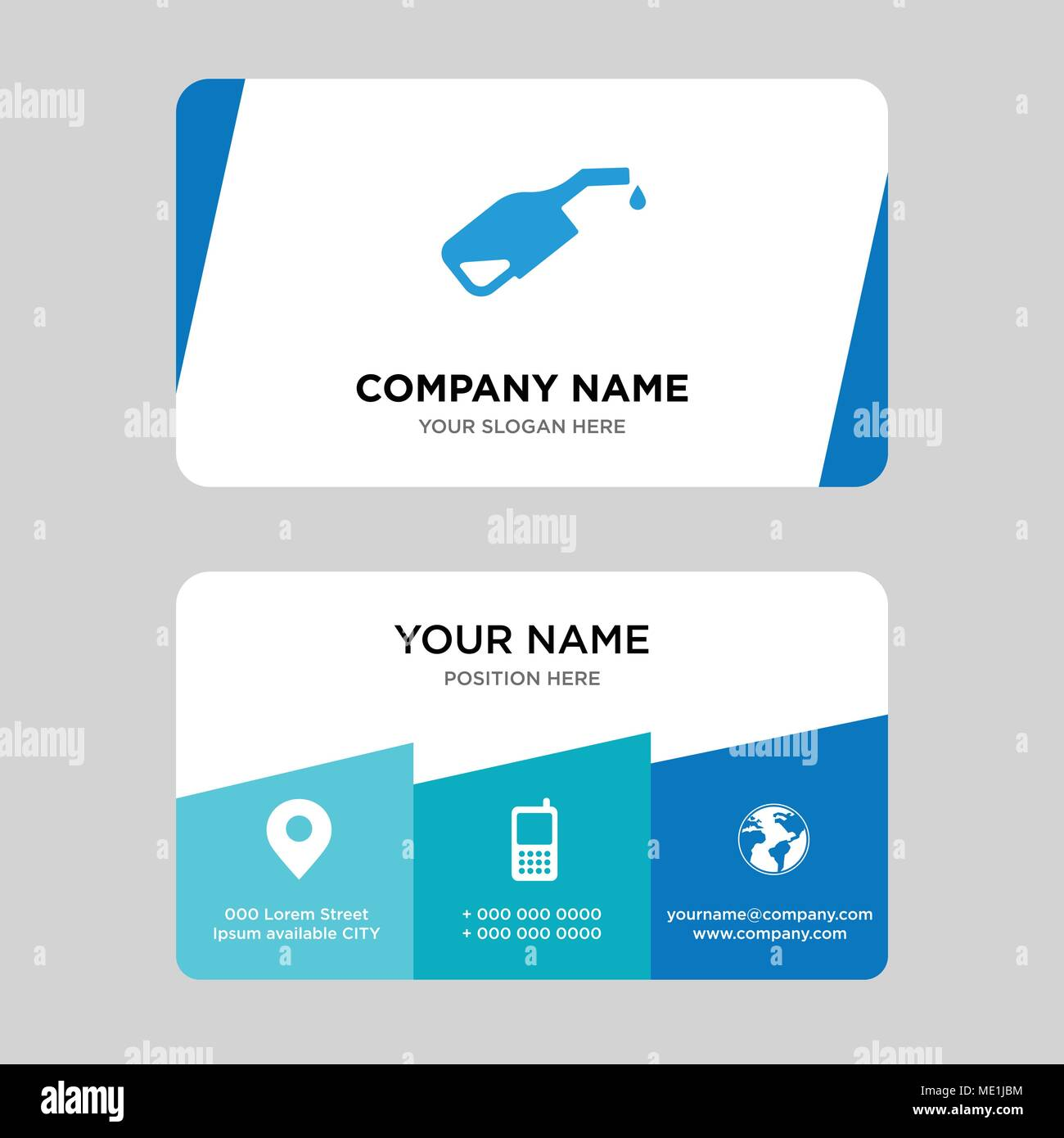 Pump business card design template visiting for your company pump business card design template visiting for your company modern creative and clean identity card vector illustration fbccfo Choice Image
