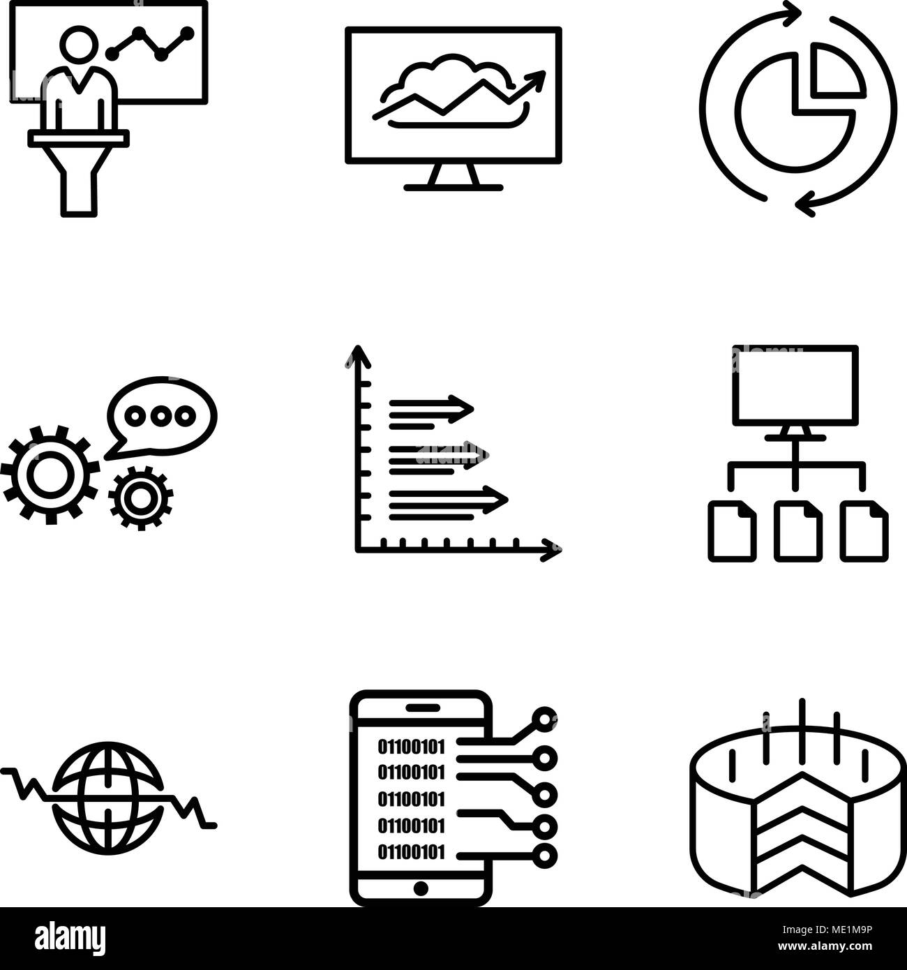 Set Of 9 Simple Editable Icons Such As Folder Connected Circuit Heartbeatmonitorcircuitjpg Data Analytics Upgoing Bars Chart Global Heart Beat Flow 3d A