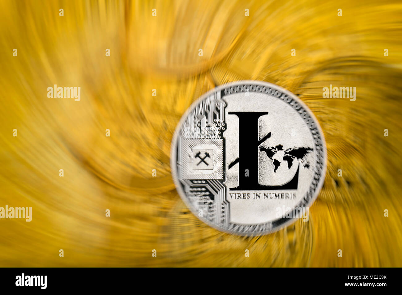 Symbol Image Turbulence Share Price Digital Currency Gold Physical