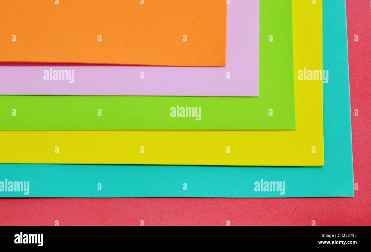 color foam rubber board overlay Stock Photo: 180780465 - Alamy