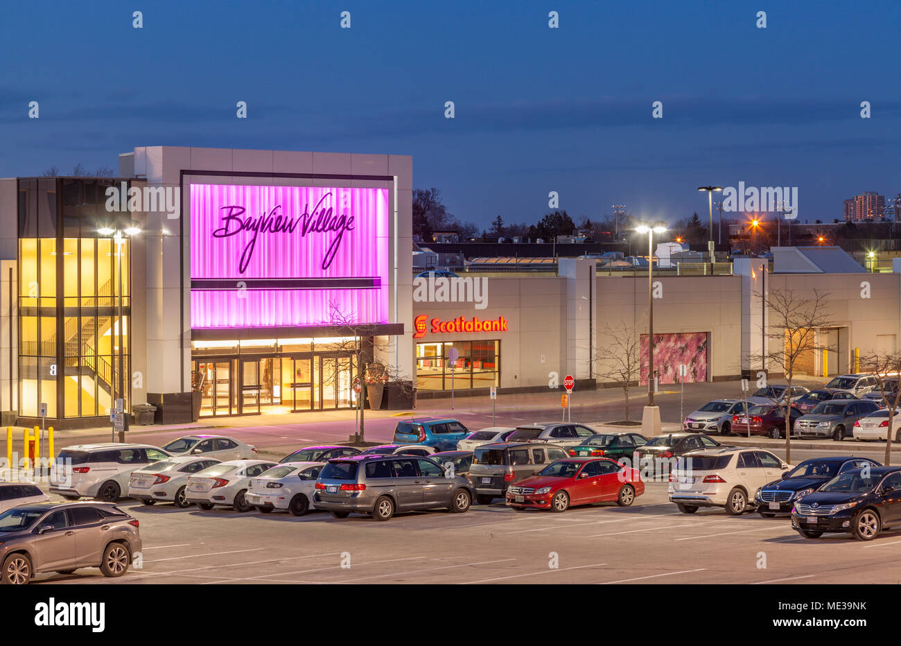 Bayview village shopping center