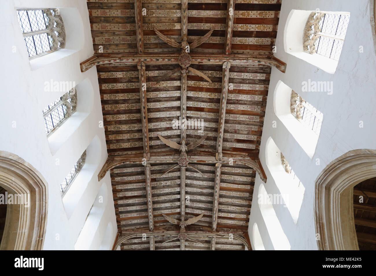 Holy Trinity Church, Blythburgh, Suffolk, UK. - Stock Image