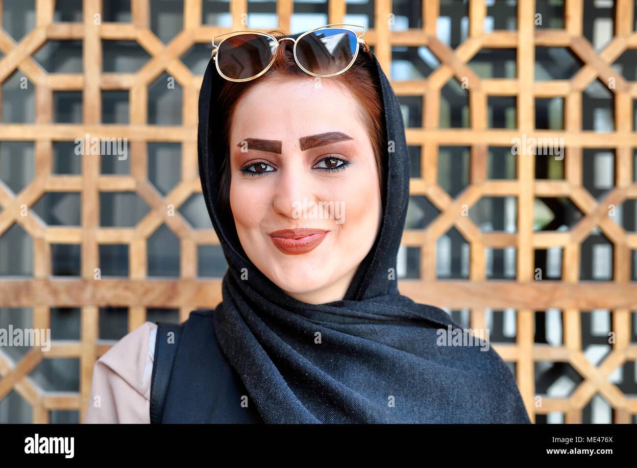 the lady next door in iran