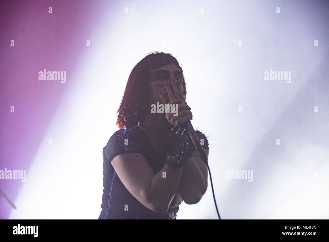 Netherlands, Tilburg - April 19, 2018. The Swedish post-metal band ...