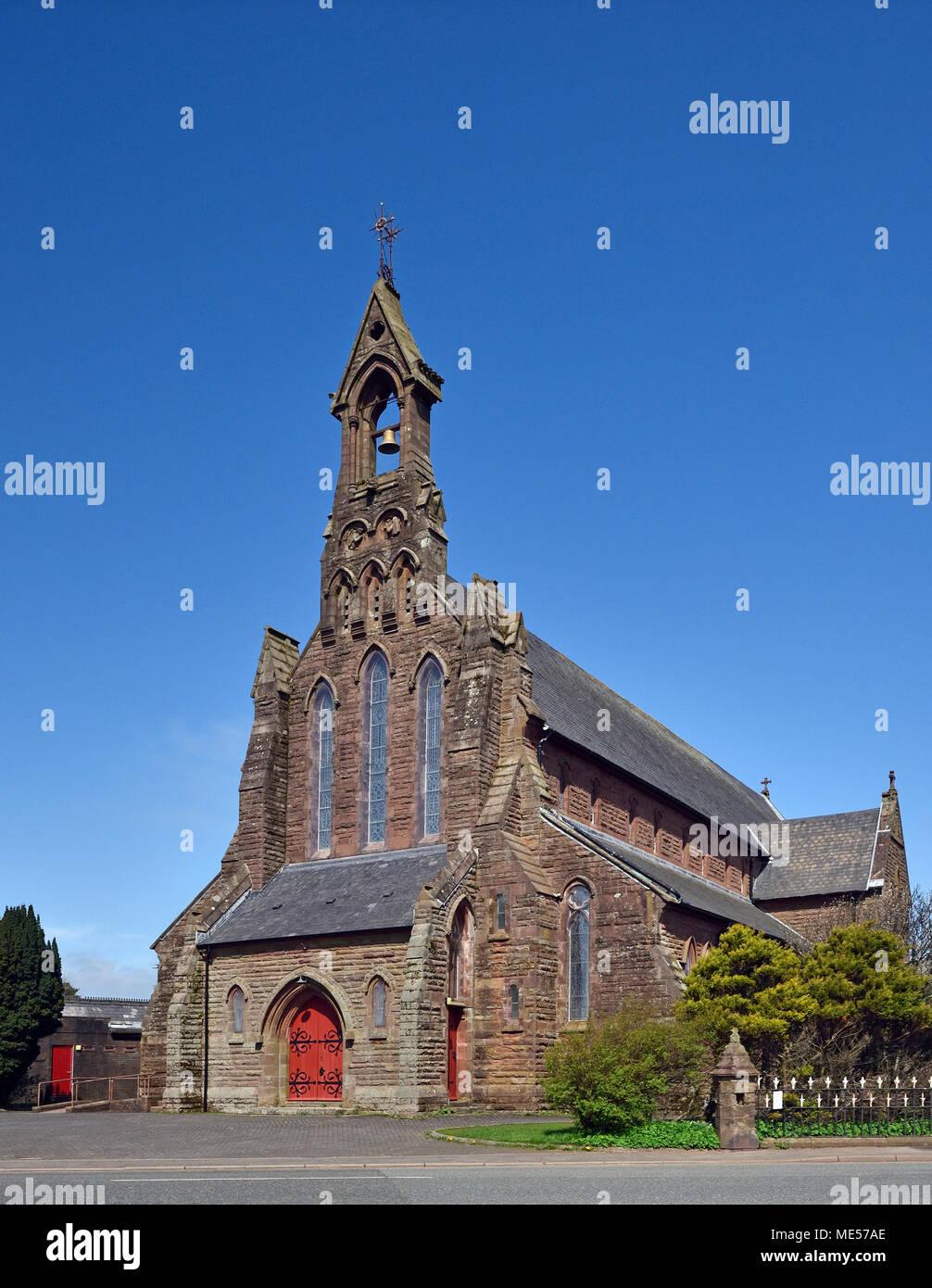 Church of Saint Mary (Roman Catholic). Cleator, Cumbria, England, United Kingdom, Europe. - Stock Image