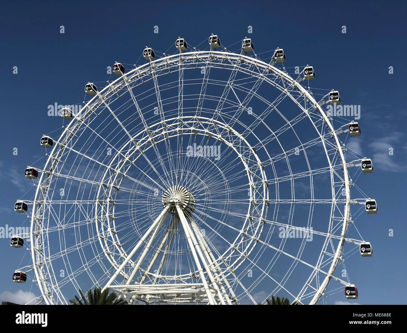 The Orlando Eye A 400 Ft Tall Giant Ferris Wheel And The