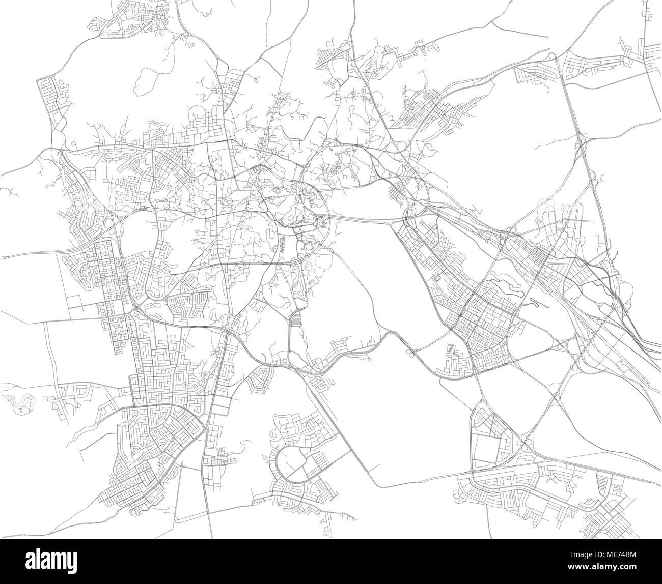 Mecca map, Makkah is a city in the Hejazi region of the Arabian ...