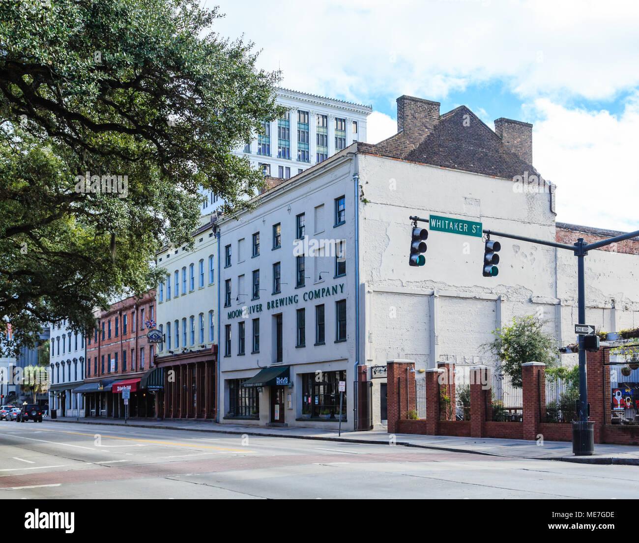 The Moon River Brewing Company In Savannah Georgia Stock Photo Alamy