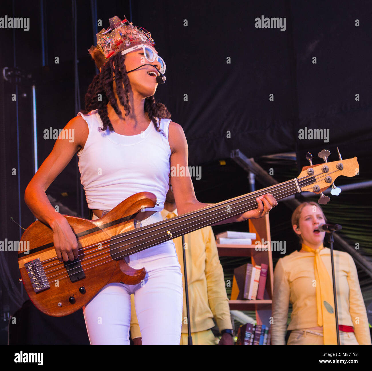 Esperanza Spalding performing live at Molde International