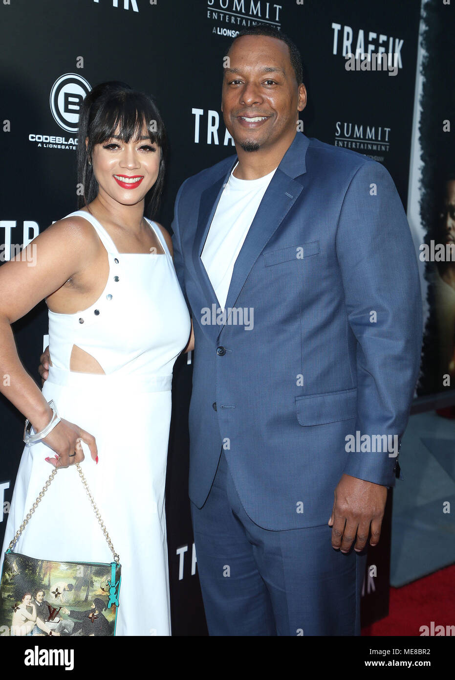 Deon Taylor And Roxanne Avent Stock Photos & Deon Taylor And Roxanne ...