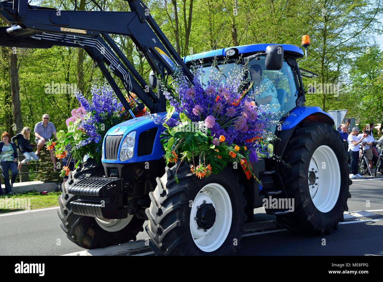 Decorated Tractor Stock Photos Decorated Tractor Stock Images Alamy