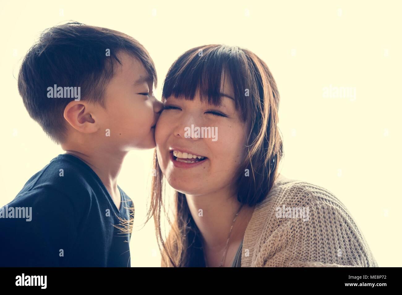 Kissing japanese