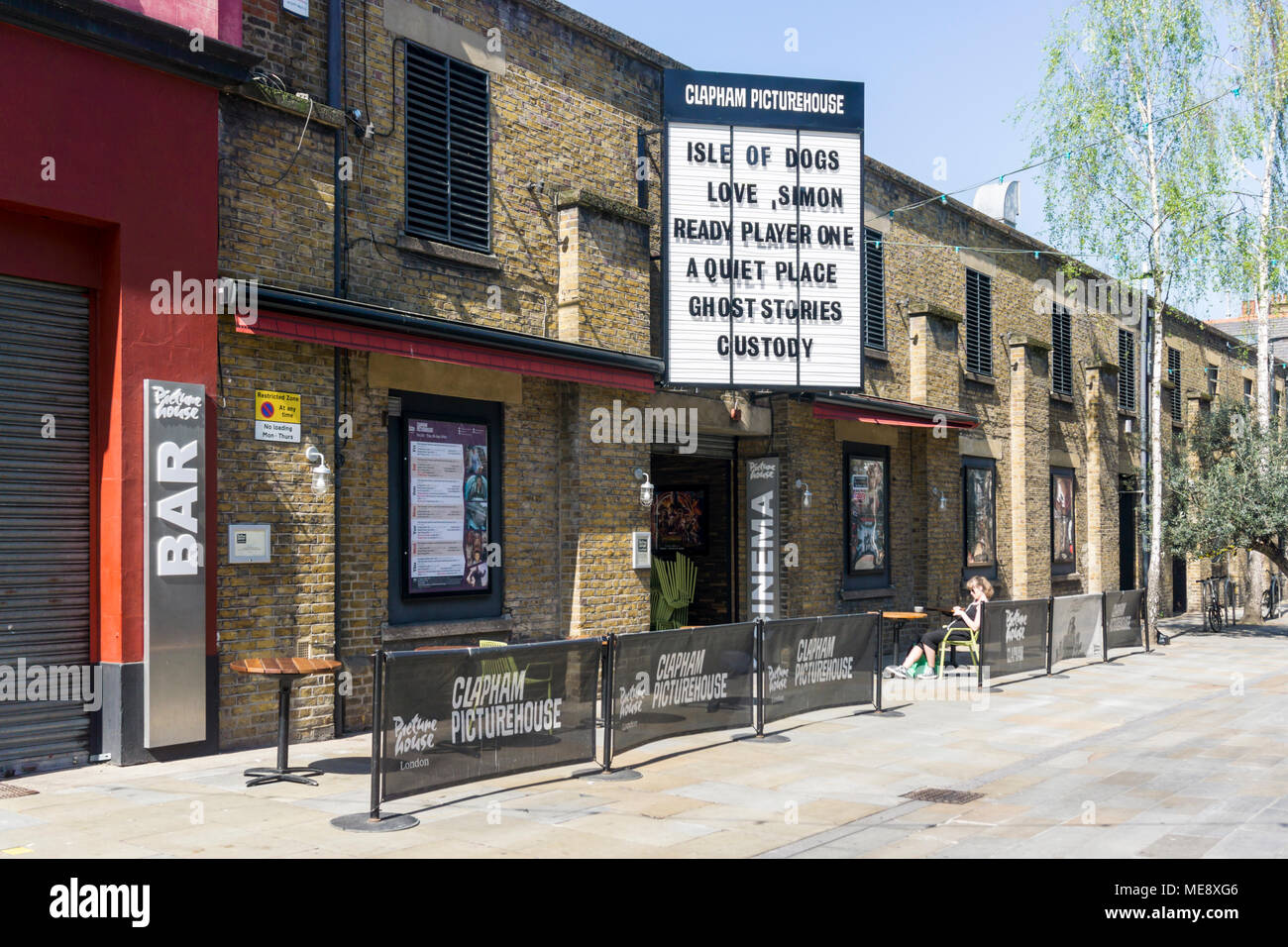 Clapham Picturehouse in Venn Street, Clapham Old Town, South London. - Stock Image