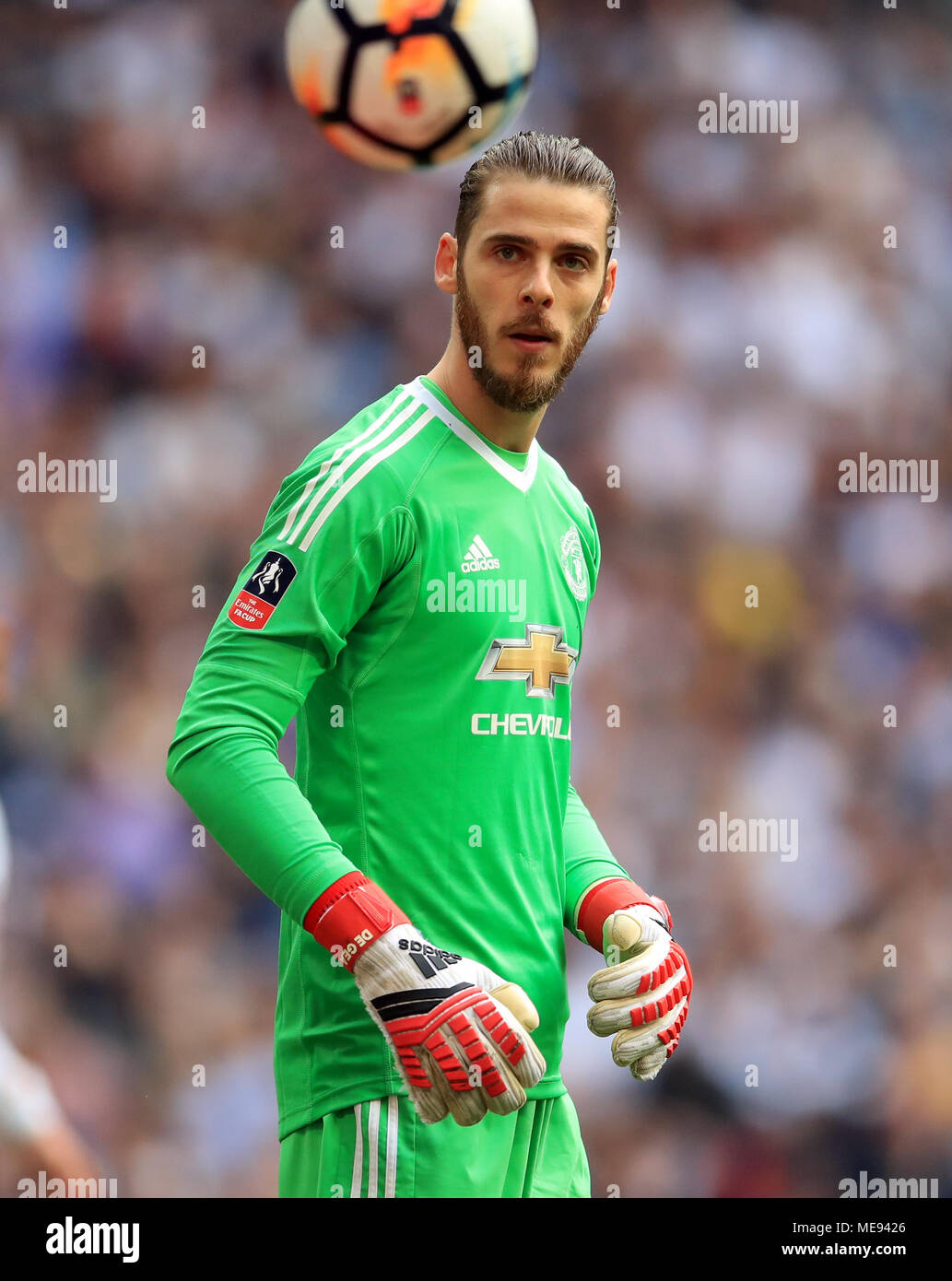 Manchester United Goalkeeper David De Gea Stock Photo Alamy