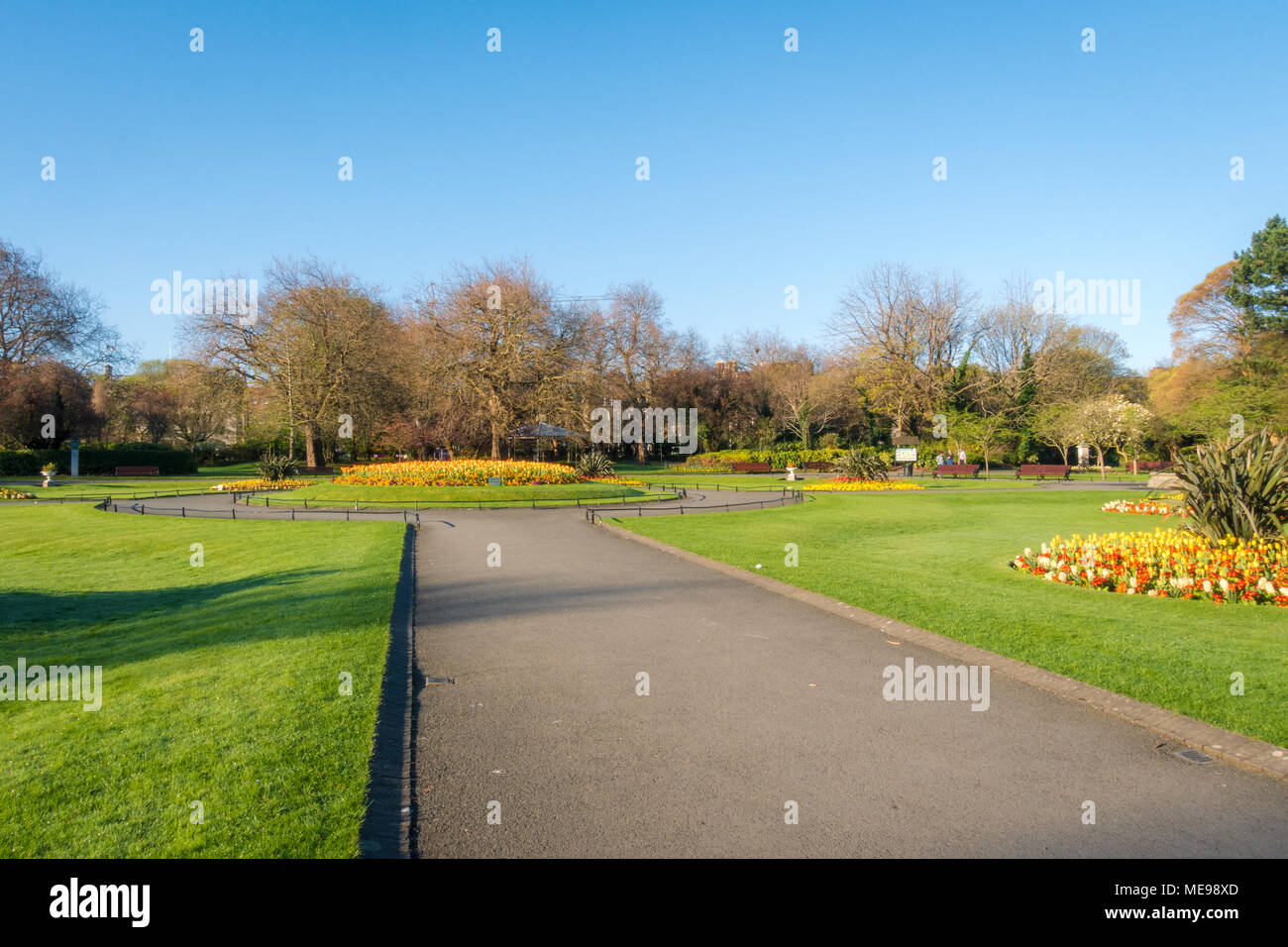 St Stephen's Green Stock Photo