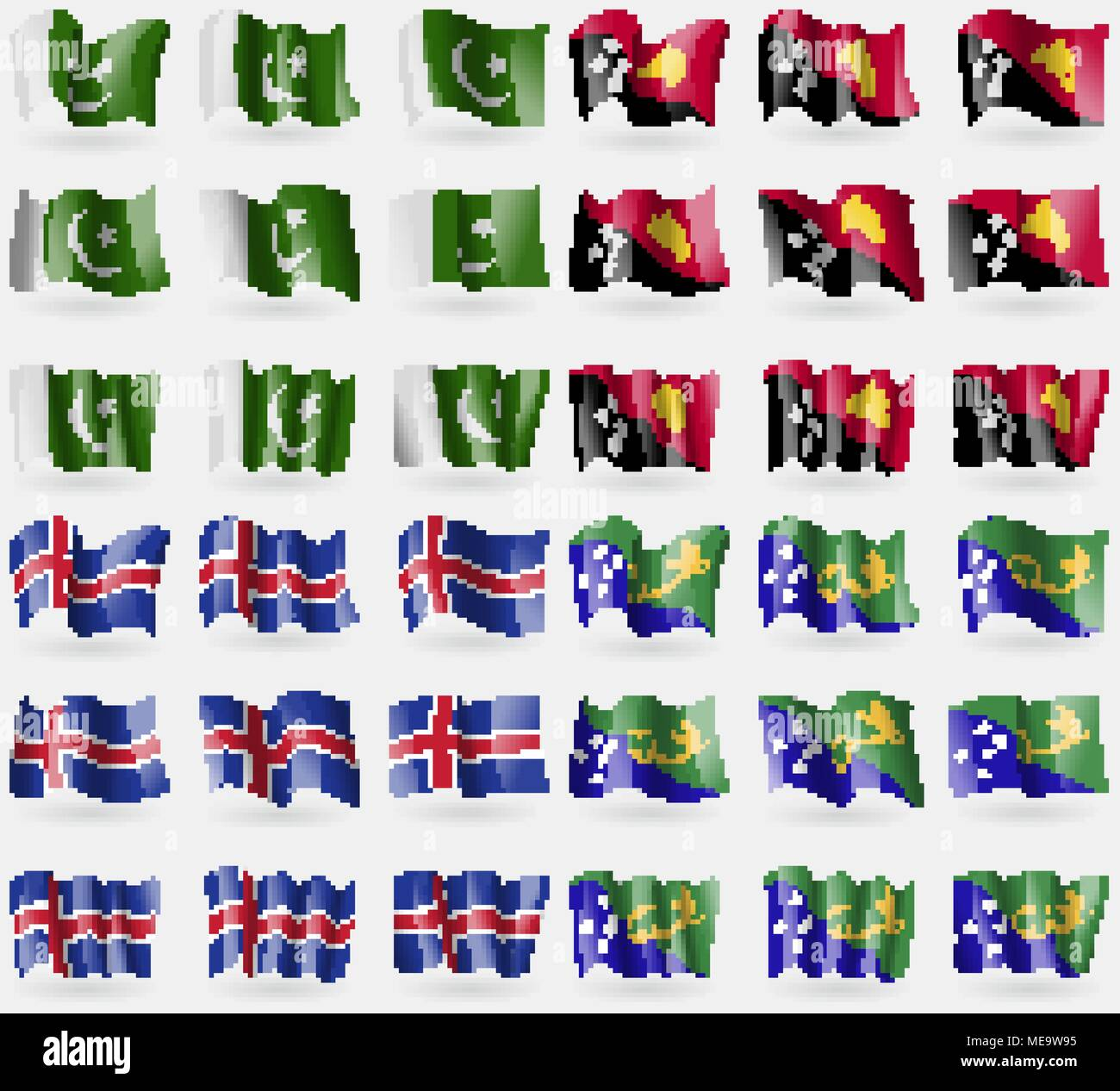 pakistan papua new guinea iceland christmas island set of 36 flags of - Merry Christmas In Icelandic
