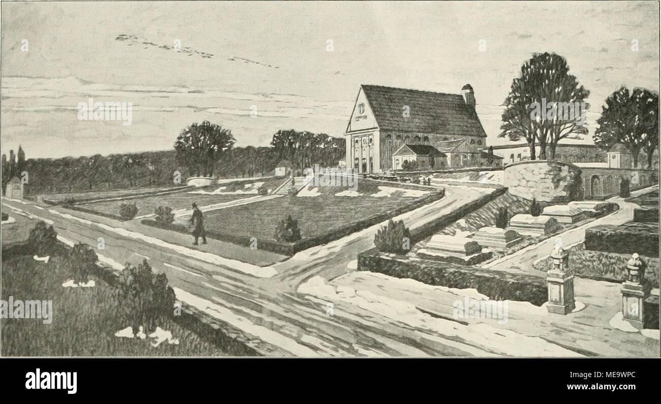 Die Gartenkunst . Wettbewerb Zentralfriedhof Erfurt: Ein III. Preis ...