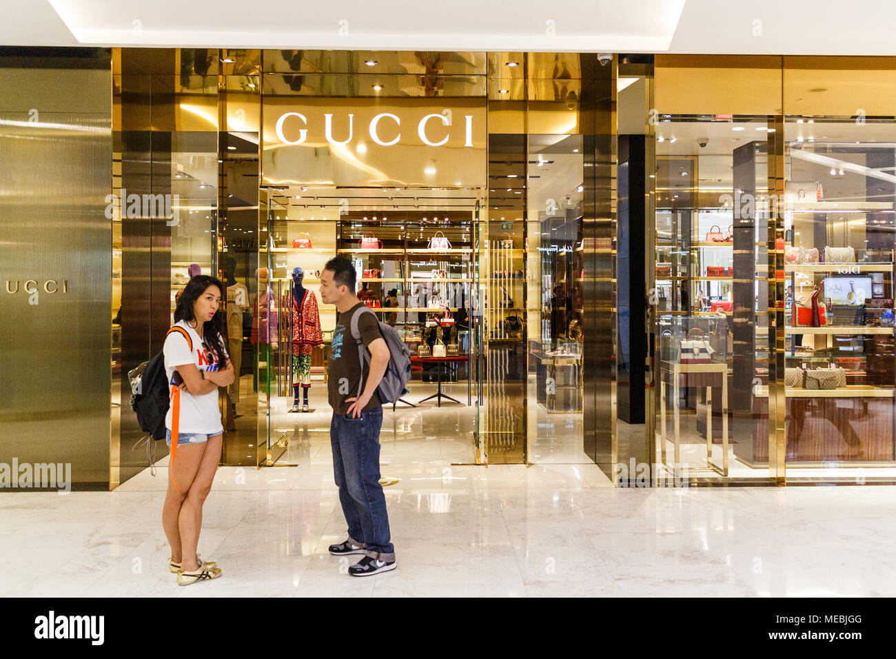 4989d14622b A Gucci Shop Stock Photos   A Gucci Shop Stock Images - Alamy