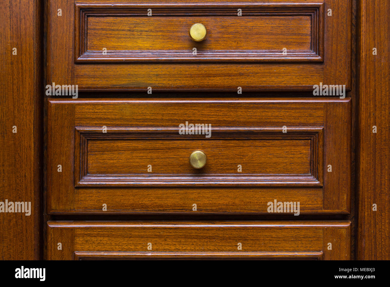 Front Showcase Cabinet Or Wardrobe Wooden Frame Door And Drawers