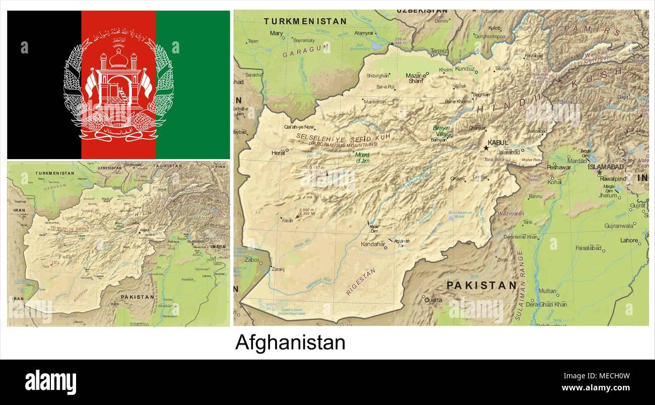 Afghanistan - Stock Vector
