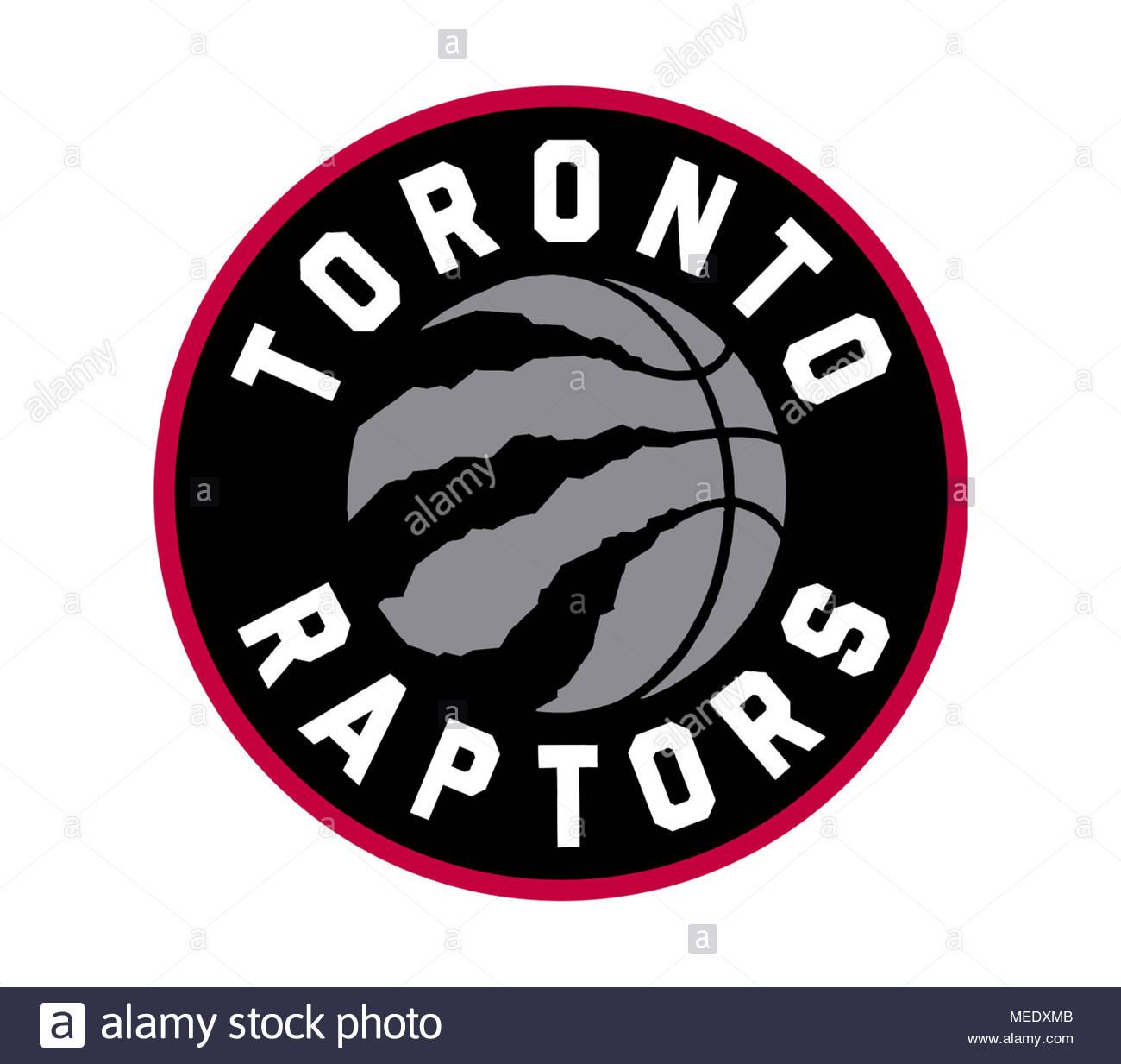 Toronto Raptors icon logo - Stock Image