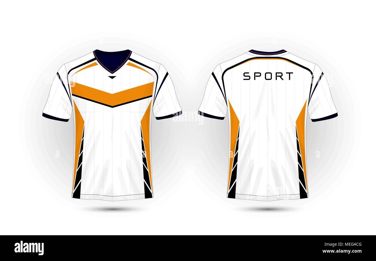 fcf335b18fe Plain Football Jersey Style Shirts