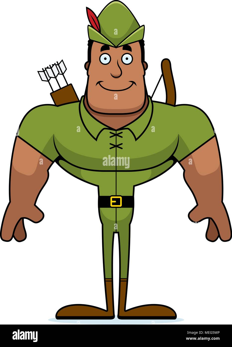 Robin Hood Cartoon High Resolution Stock Photography And Images