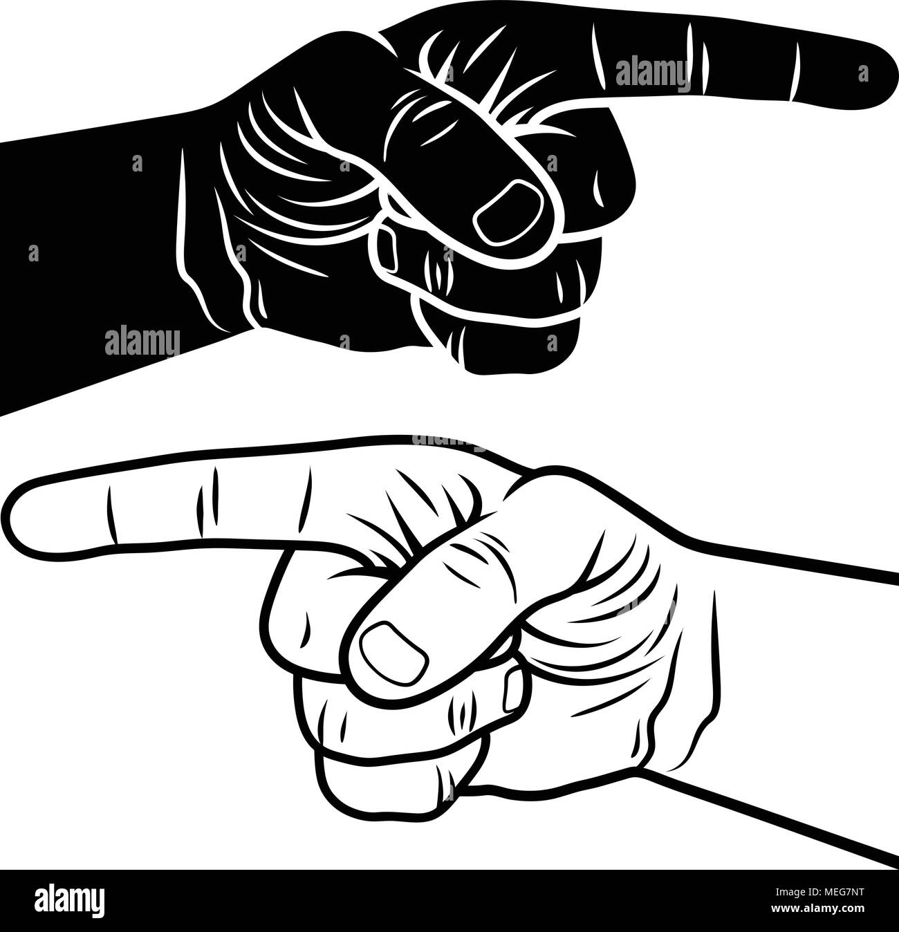 pointing hand vector illustration of a pointing finger hand drawn sketch stock vector image art alamy https www alamy com pointing hand vector illustration of a pointing finger hand drawn sketch image181066196 html