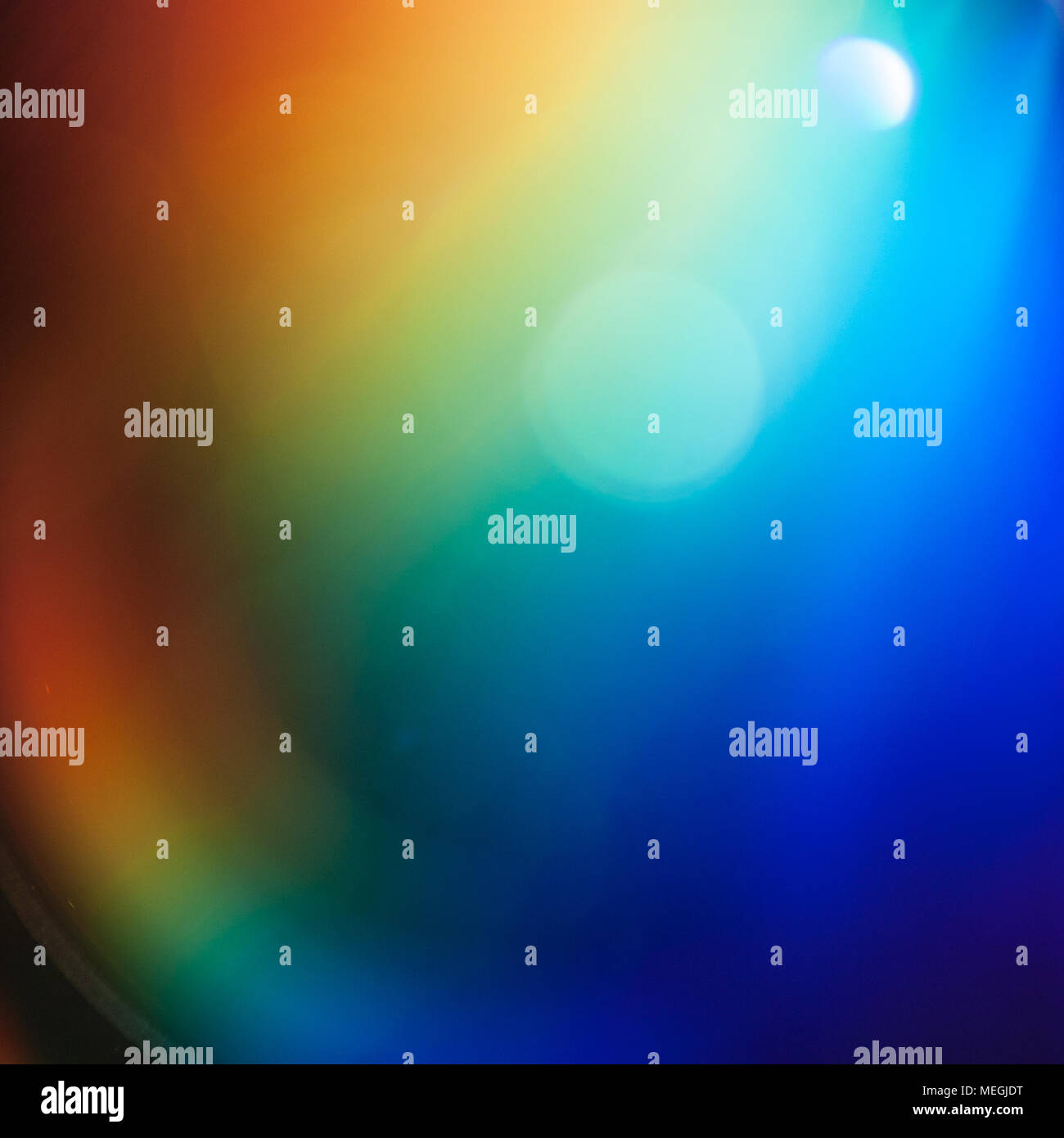 Light Spectrum Abstract - Stock Image