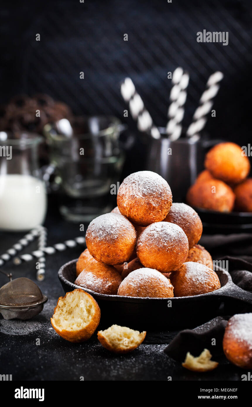 Cottage cheese donuts are a great dessert for breakfast 10