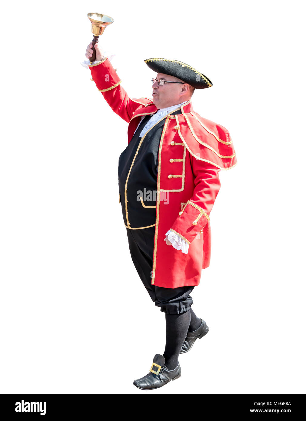 Town crier - Stock Image