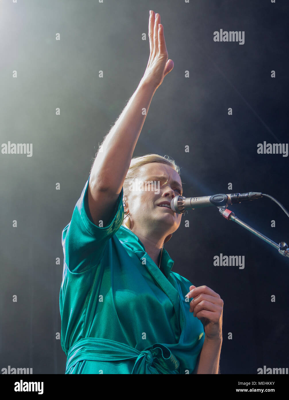 Ane Brun Molde International Jazz Festival 2016 - Stock Image