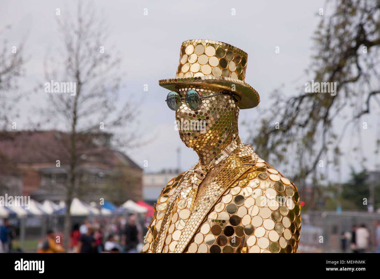 Stratford upon Avon, Warwickshire, 22nd April 2018  The Gold