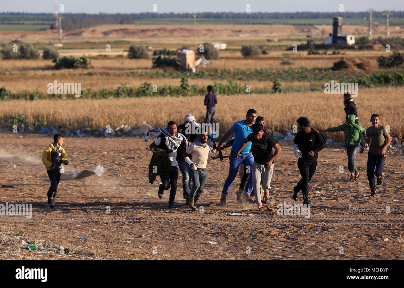 Gaza israel pull strip