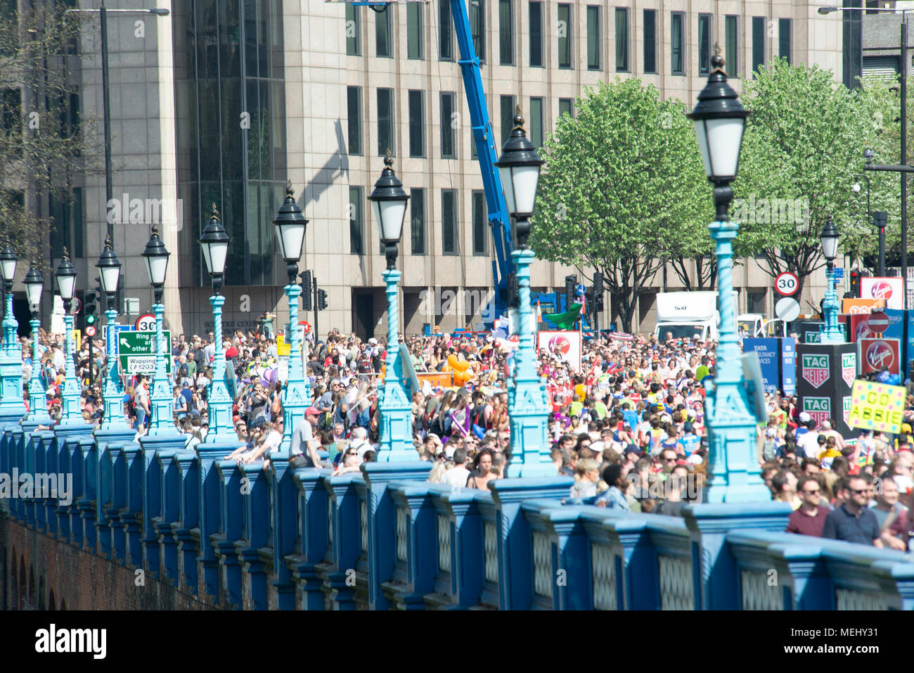 London, UK. 22nd April 2018. Virgin Money London Marathon 2018. Credit: A.Bennett Stock Photo