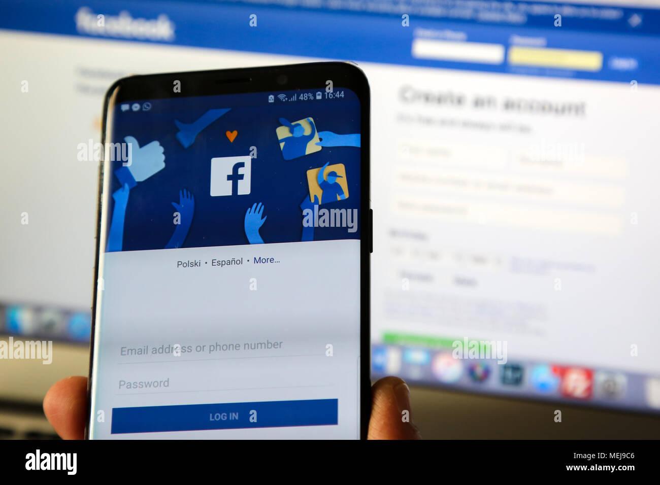 Mobile facebook login 3 Ways