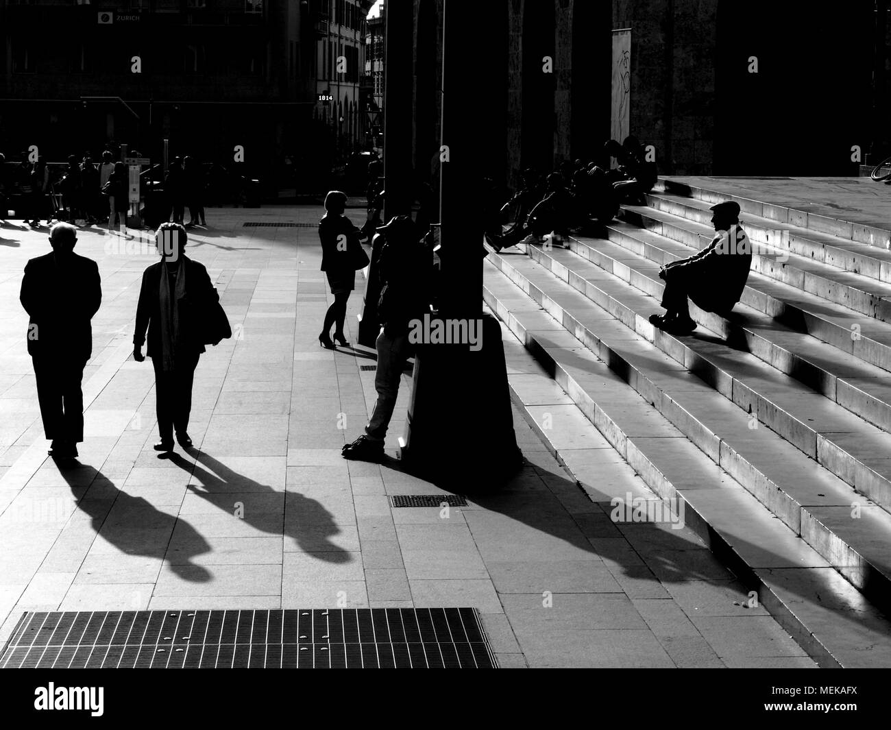 Street View - Stock Image