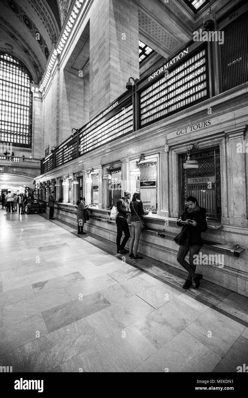 New York City April 2018 - Stock Image