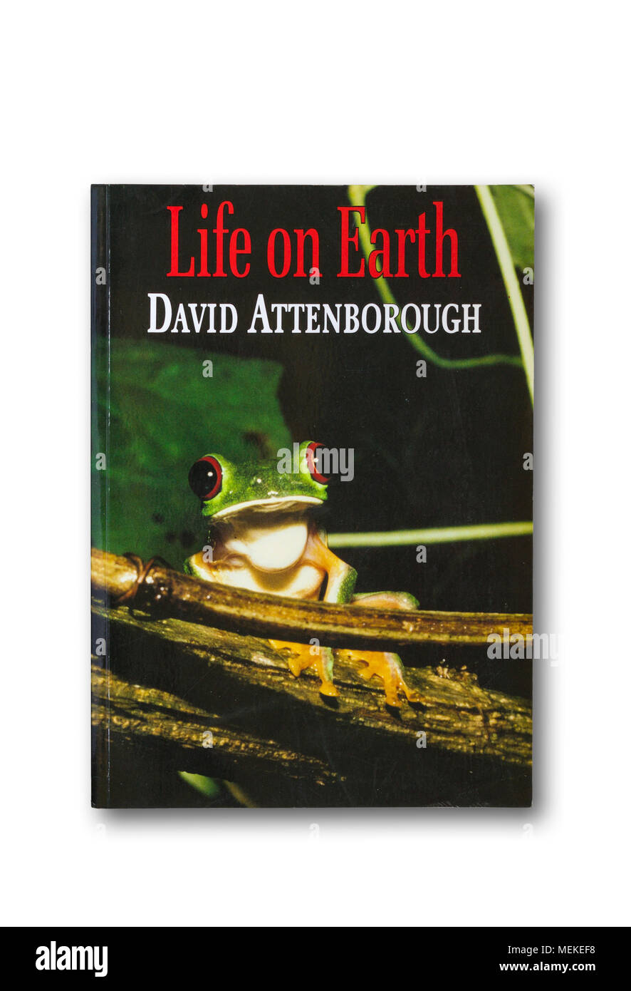 'Life on Earth' non-fictional book on evolution and animal life to accompany TV series by David Attenborough - Stock Image