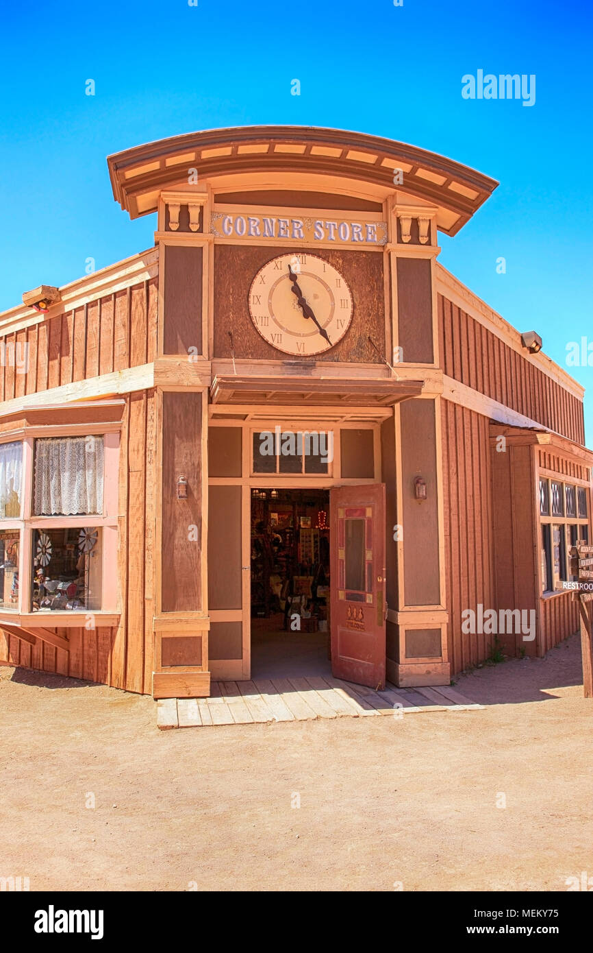 The Corner Store At The Old Tucson Film Studios Amusement